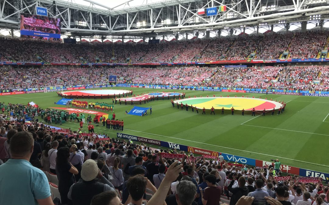 Mistrzostwa  Świata w Piłce Nożnej 2018 w Moskwie